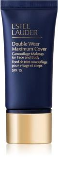 Estée Lauder Double Wear Maximum Cover Dekkende Make-up  voor Gezicht en Lichaam