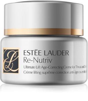 Estée Lauder Re-Nutriv Ultimate Lift Lifting Crème voor Hals en Decolleté