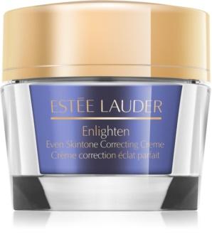 Estée Lauder Enlighten rozjasňující krém pro sjednocení barevného tónu pleti