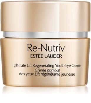 Estée Lauder Re-Nutriv Ultimate Lift creme de olhos com efeito lifting contra olheiras e inchaços