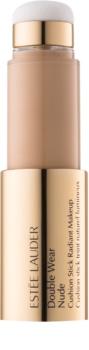 Estée Lauder Double Wear Nude maquillaje con esponja aplicadora