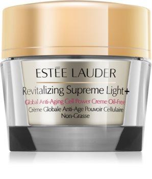 Estée Lauder Revitalizing Supreme Light + creme antirrugas multifuncional com extrato de moringa não contém óleo
