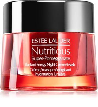 Estée Lauder Nutritious Super-Pomegranate éjszakai krémes maszk a táplálásért és hidratálásért