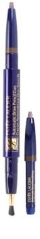 Estée Lauder Automatic Brow Pencil Duo creion pentru sprancene cu perie si rezerva