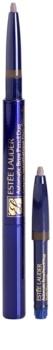 Estée Lauder Automatic Brow Pencil Duo ceruzka na obočie so štetcom a náplňou