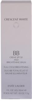 Estée Lauder Crescent White bőrvilágosító BB krém pigmentfoltok ellen SPF 50