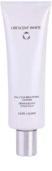 Estée Lauder Crescent White Brightening Foam Cleanser for Pigment Spots Correction