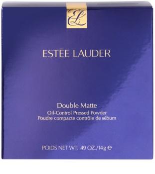 Estée Lauder Double Matte kompakt púder zsíros bőrre
