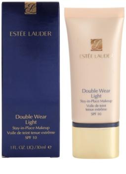 Estée Lauder Double Wear Light стійкий тональний крем SPF 10