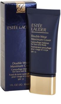 Estée Lauder Double Wear Maximum Cover fedő make-up arcra és testre