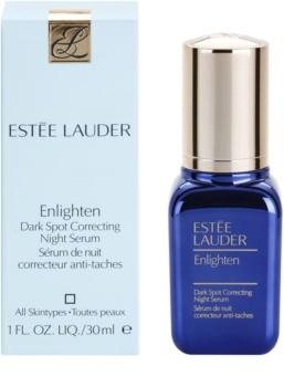 Estée Lauder Enlighten sérum de noite anti-manchas de pigmentação