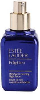 Estée Lauder Enlighten Nachtserum  tegen Pigmentvlekken