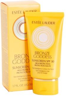 Estée Lauder Bronze Goddess opalovací mléko na obličej SPF 30