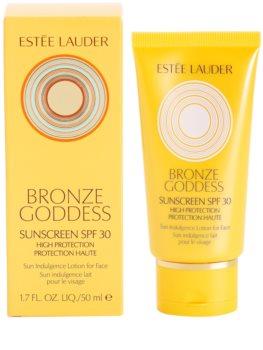 Estée Lauder Bronze Goddess leite solar facial SPF 30