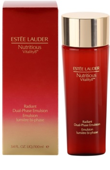 Estée Lauder Nutritious Vitality 8™ Twee-Fasen Verherlderende Emulsie