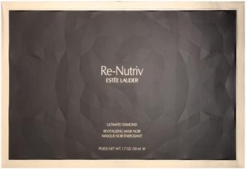 Estée Lauder Re-Nutriv Ultimate Diamond lujosa mascarilla negra revitalizante con extracto de trufa