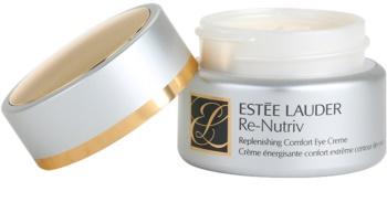 Estée Lauder Re-Nutriv Replenishing Comfort hydratisierende Augencreme gegen Falten, Schwellungen und Augenringe