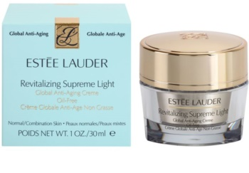 Estée Lauder Revitalizing Supreme Light leichte nicht fettende Creme gegen Hautalterung