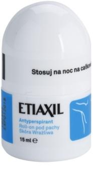 Etiaxil Original Antitranspirante Roll-On com efeito durante 3-5 dias para pele sensível