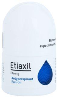 Etiaxil Strong antitranspirante Roll-On com efeito durante 5 dias contra suor excessivo