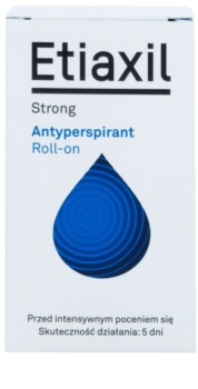 Etiaxil Strong antiperspirant roll - on cu efect de 5 zile impotriva transpiratiei excesive