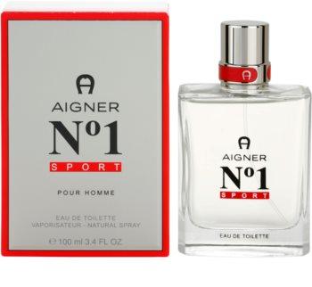 Etienne Aigner No. 1 Sport Eau de Toilette voor Mannen 100 ml