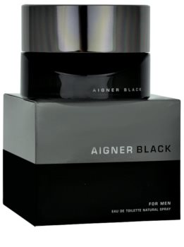 Etienne Aigner Black for Man Eau de Toilette Herren 125 ml