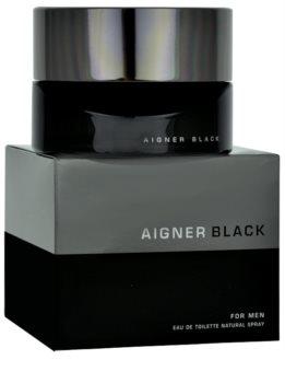 Etienne Aigner Black for Man eau de toilette uraknak 125 ml