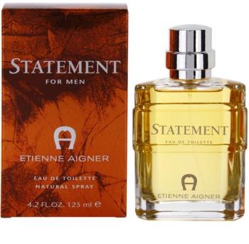 Etienne Aigner Statement eau de toilette para homens 125 ml