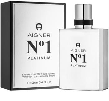 Etienne Aigner No.1 Platinum toaletná voda pre mužov 100 ml