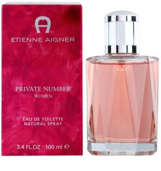 Etienne Aigner Private Number Eau de Toilette voor Vrouwen