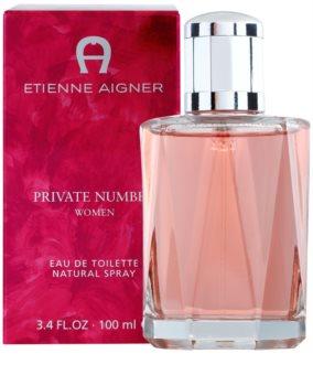 Etienne Aigner Private Number woda toaletowa dla kobiet 100 ml