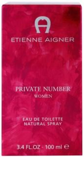 Etienne Aigner Private Number eau de toilette pour femme 100 ml