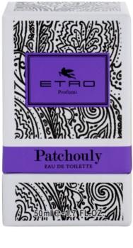 Etro Patchouly Eau de Toilette unissexo 50 ml