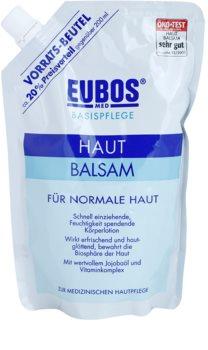Eubos Basic Skin Care bálsamo corporal hidratante para pele normal recarga