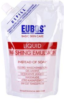 Eubos Basic Skin Care Red émulsion lavante recharge