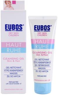 Eubos Children Calm Skin м'який очищуючий гель з алое вера