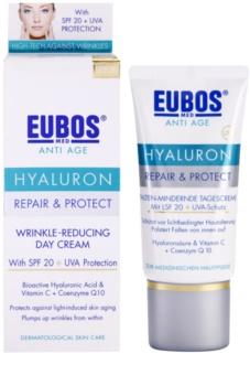 Eubos Hyaluron zaščitna krema proti staranju kože SPF 20