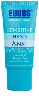 Eubos Sensitive cuidado intensivo para pele seca, com fissuras e unhas quebradiças