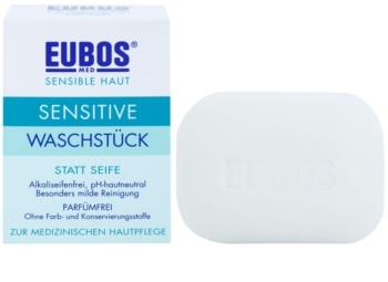 Eubos Sensitive tuhé mydlo bez parfumácie