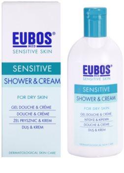 Eubos Sensitive sprchový krém s termální vodou