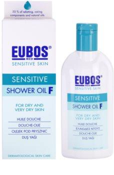 Eubos Sensitive olje za prhanje za suho do zelo suho kožo