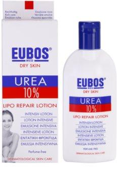 Eubos Dry Skin Urea 10% поживне молочко для тіла для сухої шкіри з відчуттям свербіння