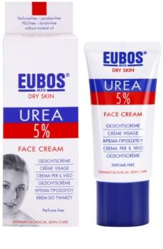 Eubos Dry Skin Urea 5% intensive, hydratisierende Creme für das Gesicht