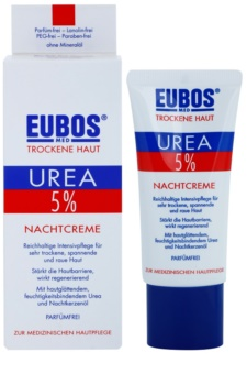 Eubos Dry Skin Urea 5% tápláló éjszakai krém az érzékeny és intoleráns bőrre