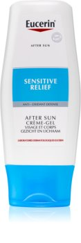 Eucerin Sun After Sun gel calmant dupa expunere la soare pentru piele sensibila