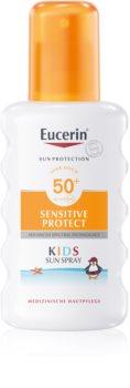 Eucerin Sun Kids spray protector pentru copii SPF50+