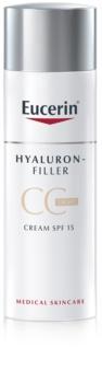 Eucerin Hyaluron-Filler CC krém proti hlbokým vráskam SPF 15