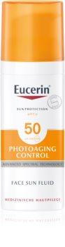 Eucerin Sun Photoaging Control zaščitna emulzija proti gubam SPF 50