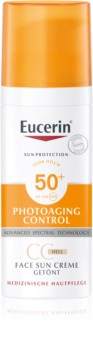 Eucerin Sun Photoaging Control CC krema za sončenje SPF 50+